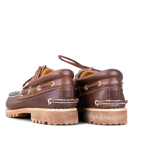 Ανδρικά παπούτσια Timberland  Authentic Handsewn Boat Shoe Md Brown Full Grain